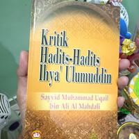 Buku sunnah langka kritik Hadits dalam ihya Ulumuddin al Ghazali
