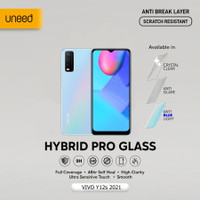 Semua Type VIVO - UNEED Hybrid Pro Anti Break Screen Protector Full - Clear, Front 1 Pcs
