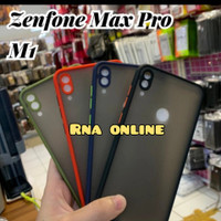 Asus Zanfone Max Pro M1 Case Dove My Choise Armor Matte Transparan