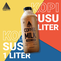 Kopi Susu Original 1 Liter - Hanya Go-send Instant (Tanpa Pengawet)