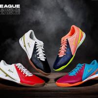 sepatu futsal League Legas Defcon LA 4 warnaSpesifikasi : - 100% Or