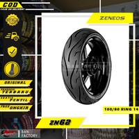 BAN MOTOR RING 14 MATIC BAN TUBLES RING 14 ZENEOS ZN62 100/80 RING 14