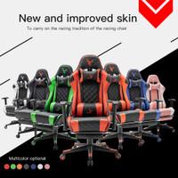 SAGE SG717 Chair Kursi bangku GAMING game With Footrest 180° SG-717