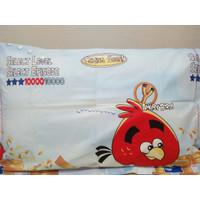 Sarung bantal & sarung guling anak Angry Birds bahan katun