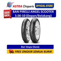 Ban Pirelli Angel Scooter 3.00-10 (Depan/Belakang) untuk Vespa Classic