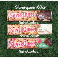 Silverqueen 65gr Dark Chocolate dan Fruit & Nut
