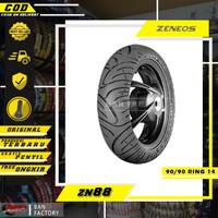 BAN MOTOR MATIC BAN ZENEOS ZN88 BAN TUBLES MOTOR MATIC 90/90 RING 14