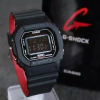 Jam Tangan Pria Wanita Casio Gshock DW 5600 digital rubber kombinasi w