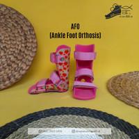 Sepatu Koreksi Orthopedi AFO Static
