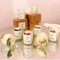 Lilin aromaterapi (relax & calm, summer paradise) scented candle