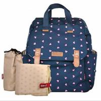 Diaper Bag Babymel Robyn Origami Heart Navy