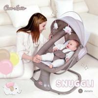 Cocolatte Snuggli Swing / Ayunan Bayi Elektrik Features - dark brown