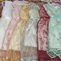 gaun anak brukat nol / baju perempuan / cantik murah / grosir pakaian