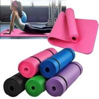Matras Yoga Premium PVC Tebal Alas Yoga Matt Anti Slip Matras Olahraga