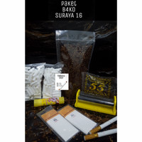 Paket Tembakau Rasa Surya 16, Alat Lintingan Bako Mini/Gaul Murah