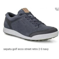 ECCO Golf Street Retro Navy 2.0 Original sepatu golf