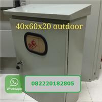 Panel Box Outdoor 40x60x20 Kotak KWH meter Outdoor PJU Solar Panel Box