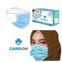 Masker 3 Ply Isi 50 pcs Hijab 3ply Alat Kesehatan Mask Headloop 50pcs