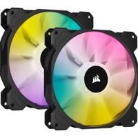 Fan Corsair iCUE SP140 RGB ELITE Performance 140mm PWM - Dual Pack