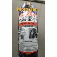 BAN MOTOR MAXXIS DIAMOND MA-3DN 70/90-R14. TUBELESS. FREE PENTIL !
