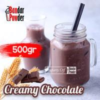 Bubuk Minuman Creamy Choco 500gr - Serbuk Minuman Kekinian - BanPow