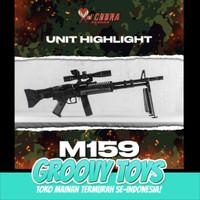 Mainan Tembakan Spring Kokang - DCobra M159 COBRA