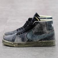 Nike SB Zoom Blazer Mid Faded Black 100% Authentic - 40
