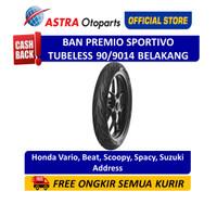 Aspira Premio Sportivo 90/90-14R Tubeless (Belakang) 01-SPO-TL90/9014R