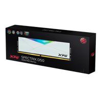 ADATA XPG SPECTRIX D50 32GB 2X16GB 3600MHZ DDR4 RGB WHITE / BLACK RAM