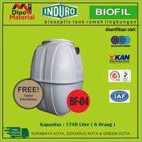 BIO SEPTIC TANK | INDURO| BIOFIL BF-04 |KAPASITAS 1780L