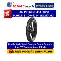 Aspira Premio Sportivo 100/80-14R Tubeless (Rear) (01-SPO-TL100/8014R)