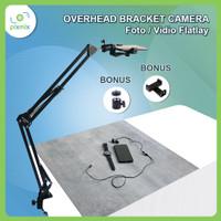 Overhead Bracket Camera - Foto / vidio flat lay