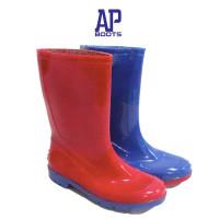 2001 Blue/Red Ap Boots - Sepatu Boots Anak