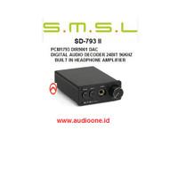 SMSL SD793 II mini DAC Audio converter headphone amplifie 24bit/96khz