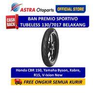 Aspira Premio Sportivo 130/70-17R Tubeless (Belakang) (01-SPO-TL130/70