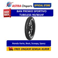 Aspira Premio Sportivo 90/80-14F Tubeless (Depan) (01-SPO-TL90/8014F)