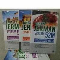 Paket Buku Belajar Bahasa Jerman Sistem 52M + CD Audio
