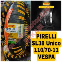 110/70-11 Pirelli SL38 Unico Ban Motor Ring 11 Tubeless - Ban Vespa