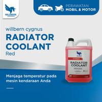 Willbern Coolant Antifreeze - Red Coolant - 5 Liter