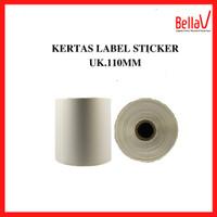 Kertas Thermal Barcode Sticker Label Uk 100mm