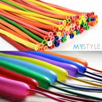 balon latex cacing twisting | balon cacing panjang | balon pentil