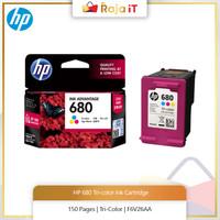HP 680 TRI-COLOR INK CARTRIDGE [F6V26AA]