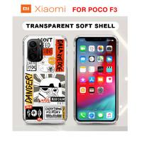 Case Xiaomi POCO F3 StarWar Cartoon Softcase Gambar Silicone Anime