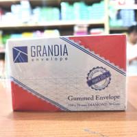 amplop kecil/visit polos putih merk Grandia