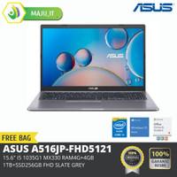ASUS A516JP-FHD5121 15.6, i5-1035G1/MX330/4G+4G/1TB+256 PCIE/FHD/Grey