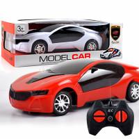 Mainan mobil 3D dengan remot kontrol
