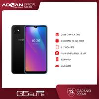 Advan G5 Elite 2021 6.1 Inci 3GB 16GB Octacore Android10 Garansi Resmi - Hitam