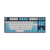 Leopold FC750R Stickpoint White Skyblue TKL Mechanical Gaming Keyboard