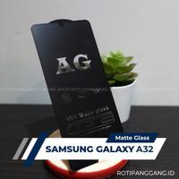 SAMSUNG GALAXY A32 Anti Glare Full Cover Premium Matte Tempered Glass