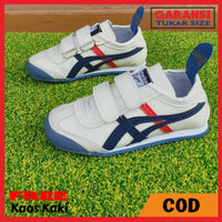 Sepatu Anak Laki-Laki Asics Onitsuka Tiger Kids Perekat Cream